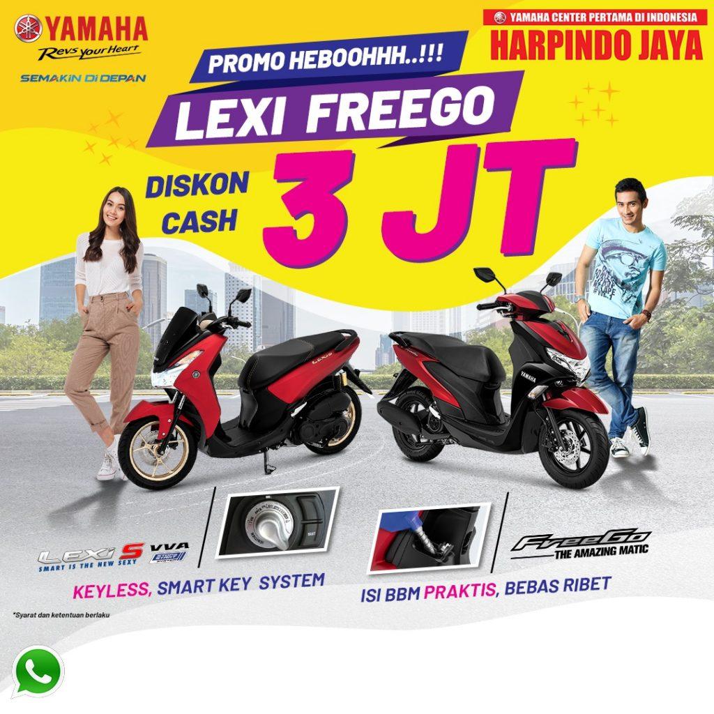 Promo Freego & Lexi Diskon 3jt