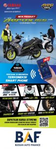 Yamaha Aerox Connected 2020