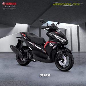 all new aerox hitam