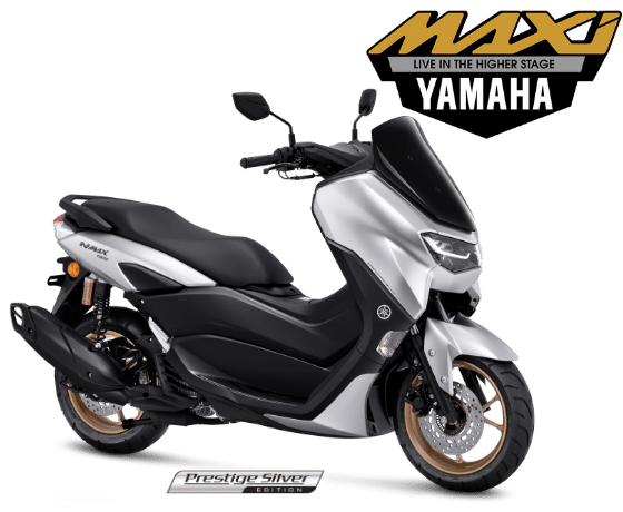 all new nmax connected putih