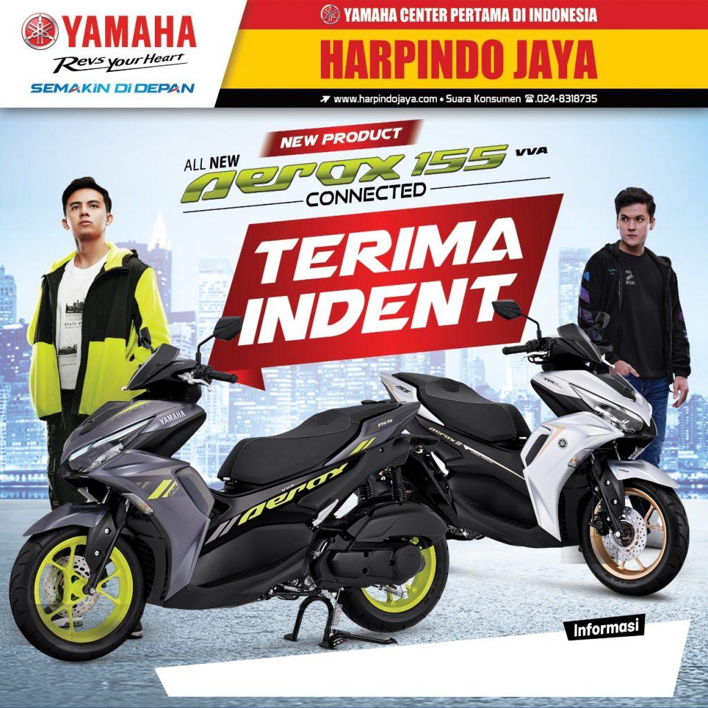 Yamaha All New Aerox Connected Sudah Bisa di Pesan