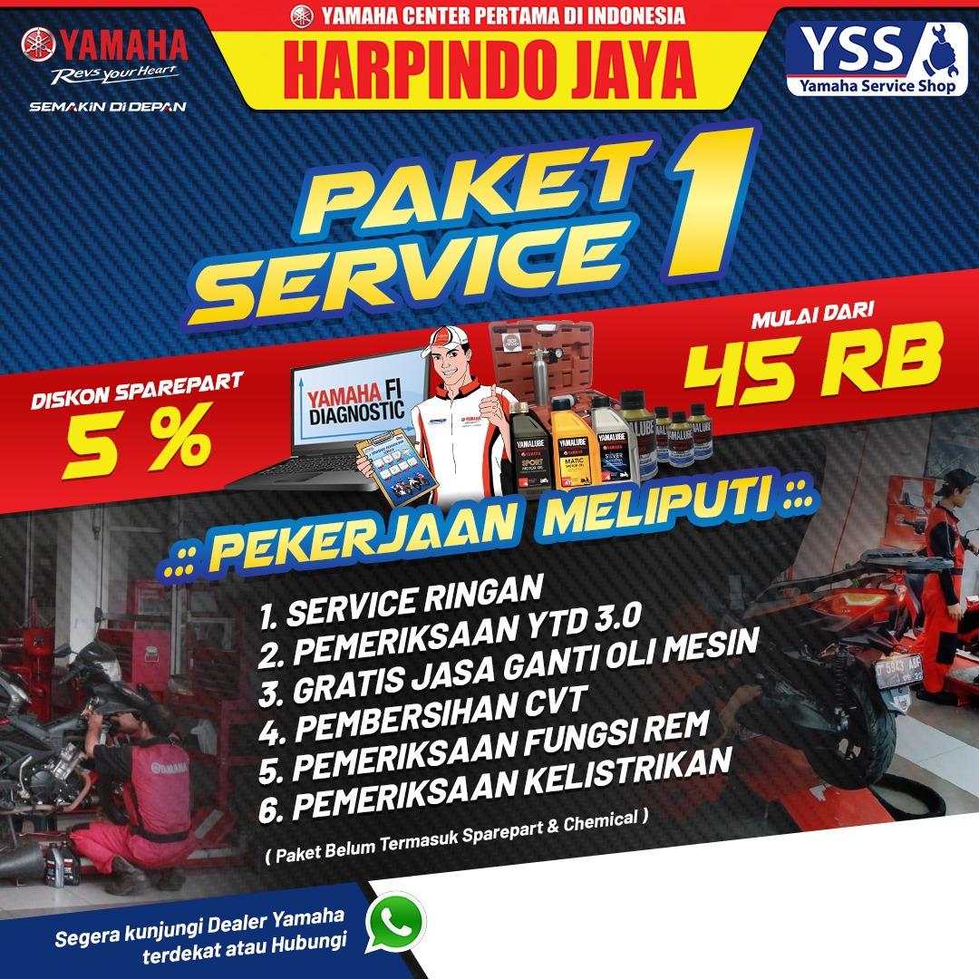 Promo Diskon 5% Service di Harpindo Jaya