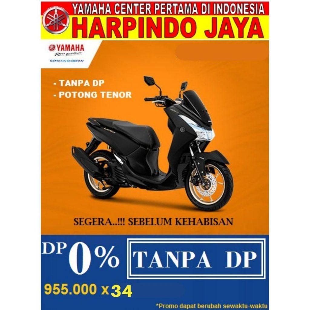 Promo Yamaha Lexi DP 0 Rupiah