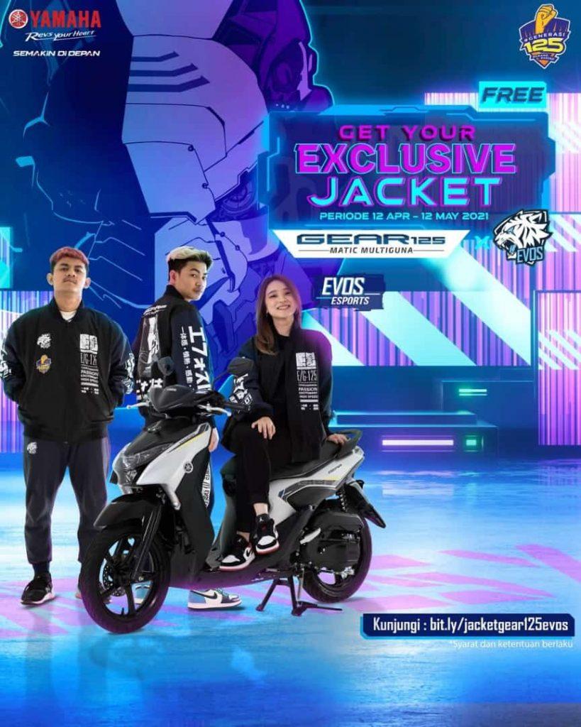promo Yamaha Gear 125