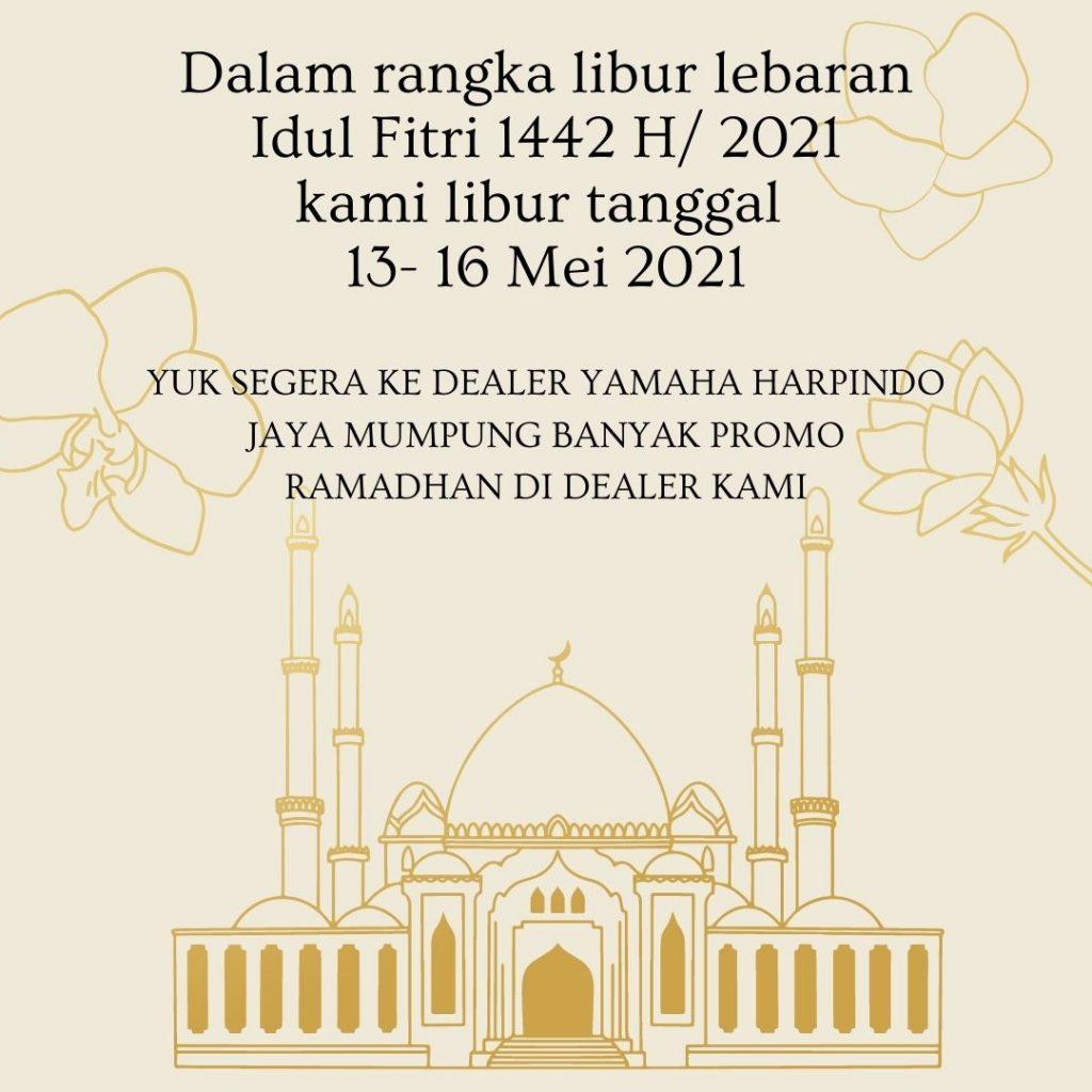 Info Libur Idul Fitri 1442 H 2021