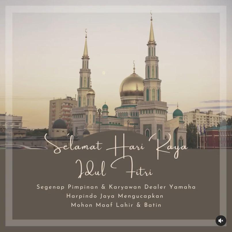 Selamat Hari raya Idul Fitri 1442 H 2021