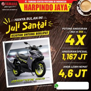 promo yamaha aerox Jogja 2