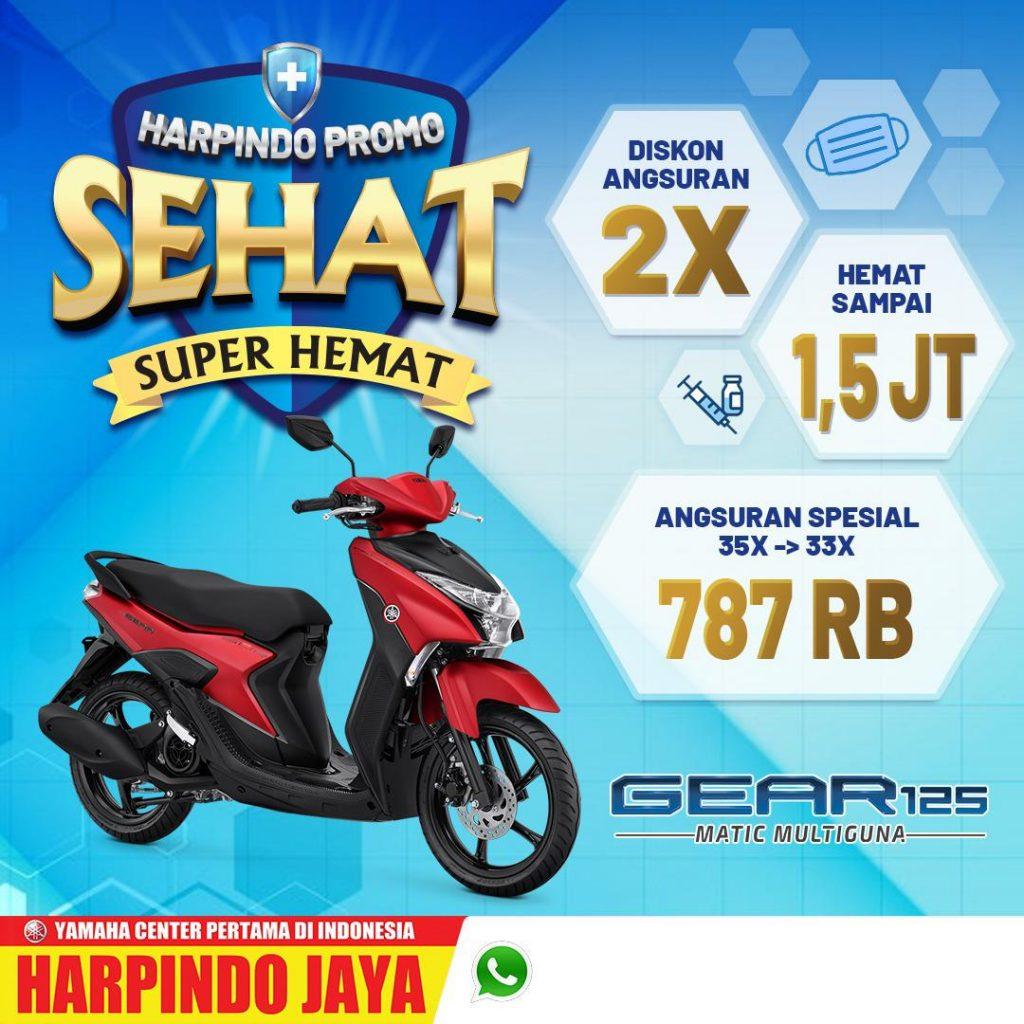 Promo Yamaha Gear Juli 2021