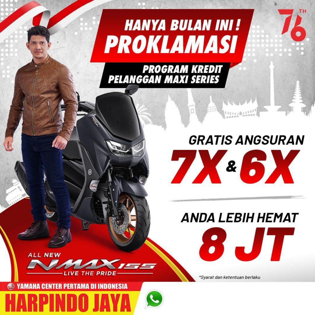 Promo Agustus 2021 Yamaha Nmax di Jogja