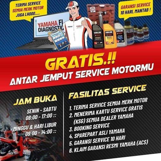 Harga Service Motor Yamaha
